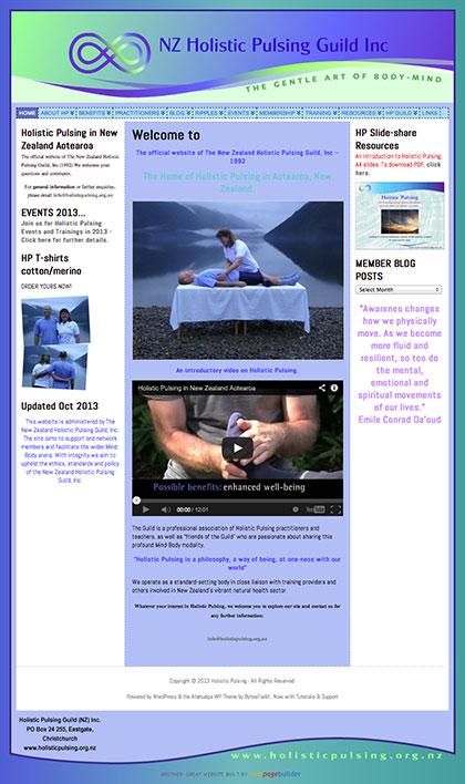 Visit holisticpulsing.org.nz